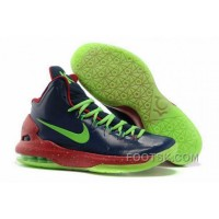 Nike Zoom KD V Mens Navy Blue Red Green Lastest J2AWJsz