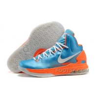 Christmas Deals Nike Zoom KD V Mens Sky Blue Orange YnWGK6
