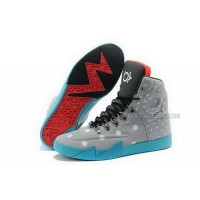 Nike KD 6 High Grey Blue Mens Shoes Discount