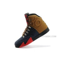 "Nike KD 6 NSW Lifestyle QS ""People's Champ"" Denim Blue/Ale Brown-University Red Sale Discount"