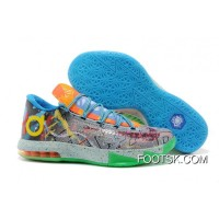 """Cheap To Buy Nike Kevin Durant KD 6 VI """"What The KD"""" 2014"""
