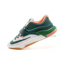 "On Sale Nike KD 7 (VII) ""Easy Money"" Mystic Green/Light Brown For Sale Discount Online"
