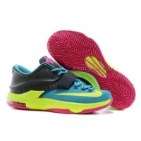 Nike KD 7 Univeristy Blue Yellow Charcoal Discount Online