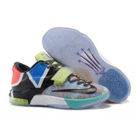 """Nike KD 7 """"What The"""" Multi-Color/Horizon-Black Discount Online"""