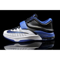 Cheap KD 7 White Black Blue Basketball Shoes For Sale Discount Online