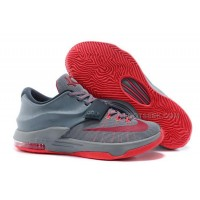 Nike KD 7 Calm Before The Storm 653996-060 Grey Punch Pink Discount Online