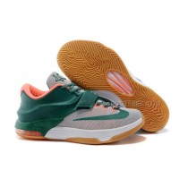 Nike KD 7 Easy Money Mystic Green Light Brown 653996-330 Discount Online
