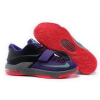Nike KD 7 Purple Red Mens Shoes Discount Online