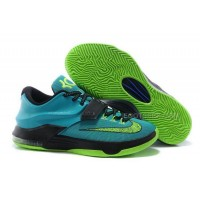 Hot Nike KD 7 Uprising 653996-370 Hyper Jade Volt Black Photo Blue