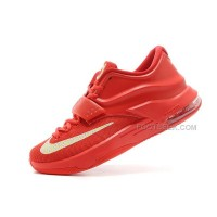 "For Sale Nike KD 7 (VII) ""Global Game"" Action Red/Metallic Silver On Sale Discount Online"
