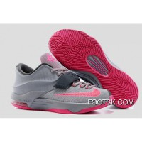 'Calm Before The Storm' Nike KD 7 Base Grey/Hyper Punch-Light Magnet Grey New Style BMnjj