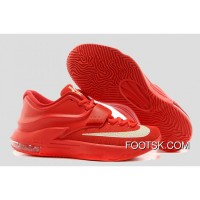 'Global Game' Nike KD VII (7) Action Red/Metallic Silver Discount Z6rRSK