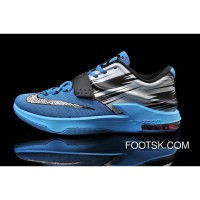 Nike KD 7 Light Lacquer Blue/Clearwater-Total Orange-White Copuon Code Fw6aazt
