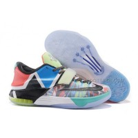 "2015 Cheap Nike KD 7 ""What The"" Glow In The Dark For Sale Discount Online"