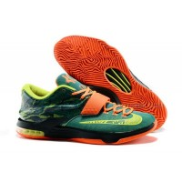 "Cheap Nike KD 7 ""Weatherman"" Emerald Green/Metallic Silver-Dark Emerald Discount Online"