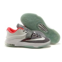 Nike Kevin Durant KD 7 Basketball Shoes Wolf Grey/Pure Platinum Discount Online