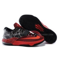 "Nike KD 7 Basketball Shoes ""Lighting"" Red Black Discount Online"