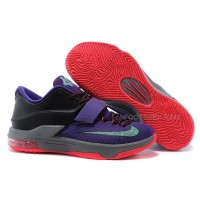 "Cheap Nike KD 7 ""Lightning 534″ Cave Purple/Hyper Grape-Grey Discount Online"