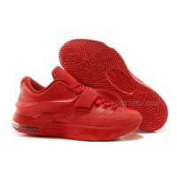 """Cheap Nike KD 7 """"Red Python"""" All Red For Sale Discount Online"""