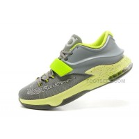 Nike Kevin Durant KD 7 (VII) Grey/Volt For Sale Discount Online