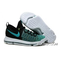 "KD 9 ""Birds Of Paradise"" Black/Clear Jade 2016 New Style"