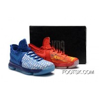 2016 'Fire & Ice' Nike KD 9 Deep Royal Blue/Photo Blue-University Red Cheap To Buy EyBrW