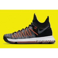 Nike KD 9 Elite Black/White-Dark Grey-Hyper Orange Copuon Code 4e2QJ