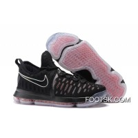 2016 Nike KD 9 Black Red Men's Basketball Shoes Online SjaxXm