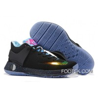 Nike KD Trey 5 Knit Black Gold Blue Pink Lastest
