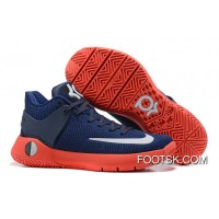 Nike KD Trey 5 Knit Obsidian/Bright Crimson/Deep Royal Blue/White New Style