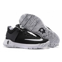 "Nike KD Trey 5 Knit ""BHM"" Black White Free Shipping"