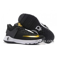 "Nike KD Trey 5 Knit ""Black Gold"" New Style"