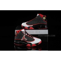 Nike Air Jordan 13 Kids Black Red White