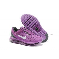 Nike Air Max 2013 Kids Shoes Anti Skid Wearable Breathable Children Sneakers Purple