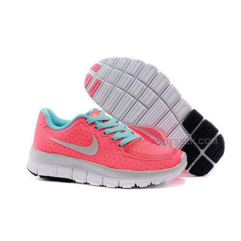 94d44194210e Nike Free 5.0 Kids Running Shoes Children Sneakers Watermelon Red ...