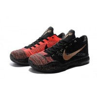 "Kobe 10 Elite Low ""Christmas"" Black Pink"