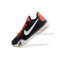 Nike Kobe 10 Black White Red Shoes