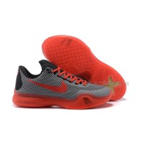 New Arrival Nike Kobe 10 Dark Gray/Bright Crimson X Outlet Cheap Online