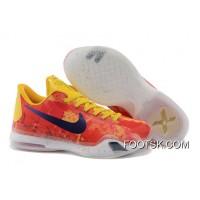 "Discount Kobe 10 ID ""Sgt. Mamba"" Yellow/Multi-Color"