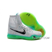 Nike Kobe 10 Elite Elevate Wolf Grey/White/Light Retro Lastest KyXEs3j