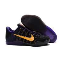 Men Nike Kobe 11 Weave Basketball Shoes Low 341 For Sale