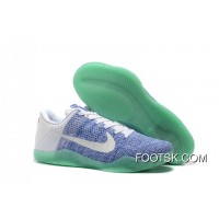 Copuon Code Kobe 11 Low Elite White/Blue-Mint 2016