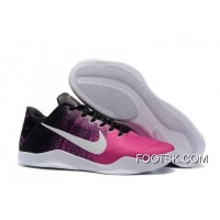 Free Shipping Nike Kobe 11 Black/Think Pink-White Shoes Online