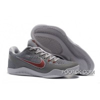 """Lower Merion"" ​Nike Kobe 11 Cool Grey/Team Red-Wolf Grey Super Deals 3HW7W"