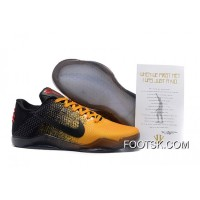 'Bruce Lee' Nike Kobe 11 University Gold/University Red-Black New Style ARysHB