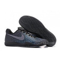 Nike Kobe 12 Black/Blue Men's Basketball Shoe Online D8b8F53