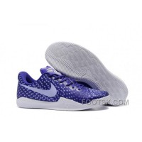 Lastest Nike Kobe 12 Purple/White Men's Basketball Shoe RsNsAh
