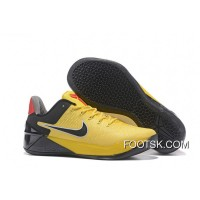 """Bruce Lee"" Nike Kobe 12 A.D. Yellow Black Top Deals CTmS7a"