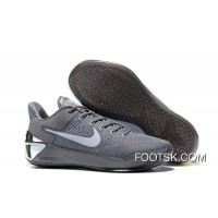 """""""Ruthless Precision"""" Nike Kobe 12 AD Cool Grey/White-Black For Sale 5f43khY"""