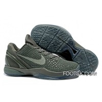 "Super Deals Nike Zoom Kobe 6 ""Fade To Black"" Basketball Shoes 2016"